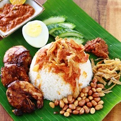 nasi-lemak-recipe-malaysian-coconut-milk-rice-chili-ginger-cloves-star-anise