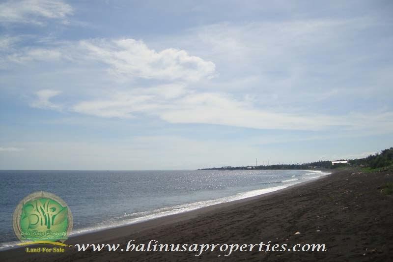 View Barat Lokasi Dengan View Luas dan Los Pantai