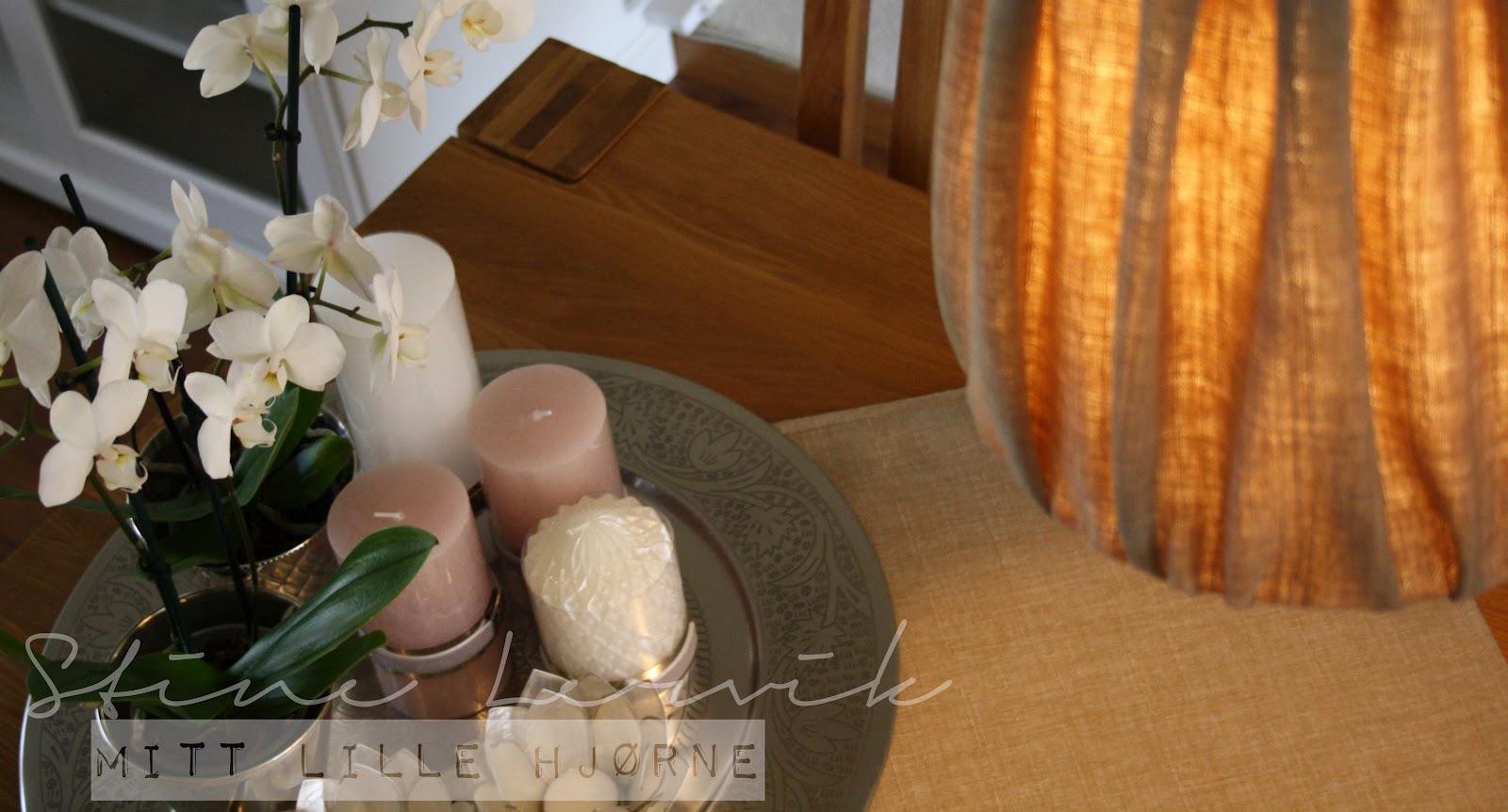 Stine lervik   mitt lille hjørne♥: nye detaljer rundt spisestuen
