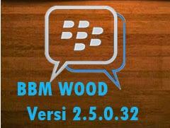 BBM mod download apk link tema Wood versi terbaru