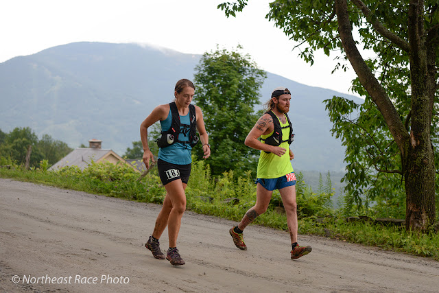 Ashley Lister, female winner of the 2015 VT 100 ultramarathon (photo by Ben Kimball)