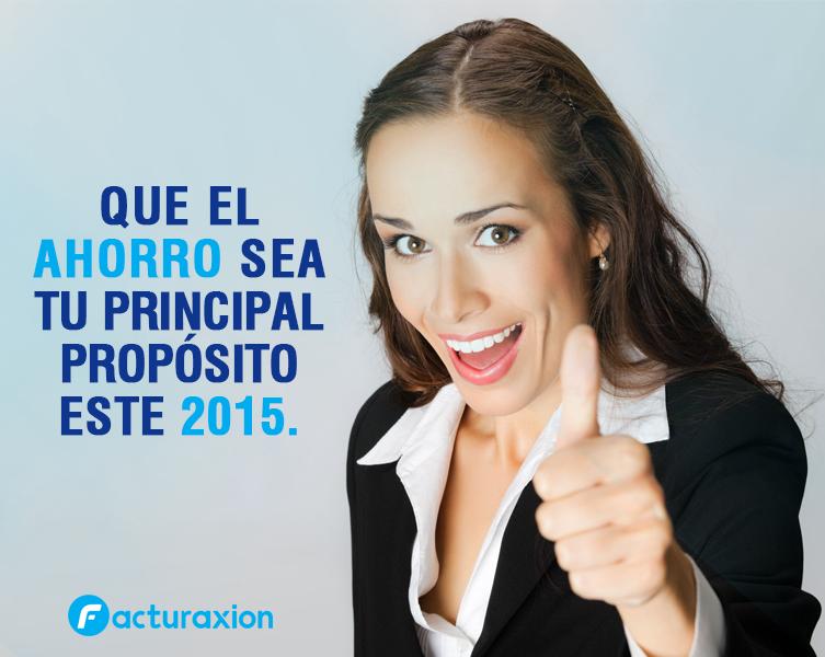 QUE EL  AHORRO SEA TU PRINCIPAL PROPÓSITO ESTE 2015.