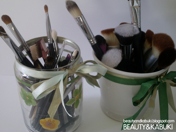 Beauty kabuki porta pennelli originali fai da te - Porta pennelli fai da te ...