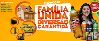 """Promoção da Schin - """"Família unida diversão garantida"""""""