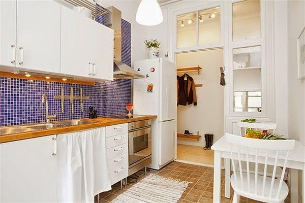 Foto da cozinha do apartamento