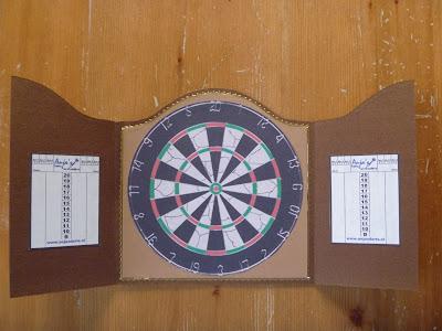 Dartbord In Kast : Anneke s creaties dartbord in kast