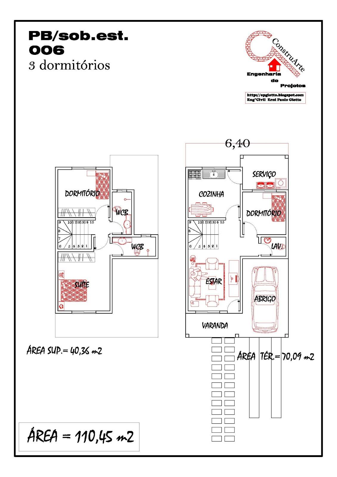de Planta Baixa Modelos de Sobrados Planta de casa projeto #BA1211 1131 1600