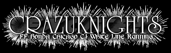 CRAZUKNIGHTS - FF Honda, Chicago C1, White Line Running