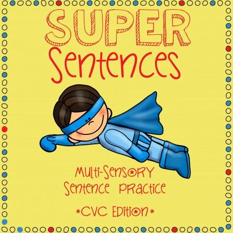Free Super Sentences Printable Worksheets Justaddcoffee