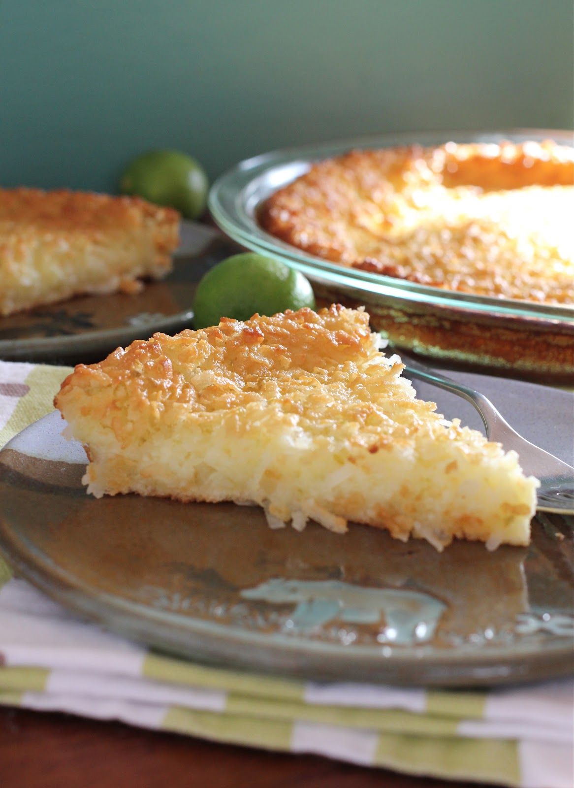 ... Garden Studio: Incredible Coconut Key Lime Pie (an Impossible Pie