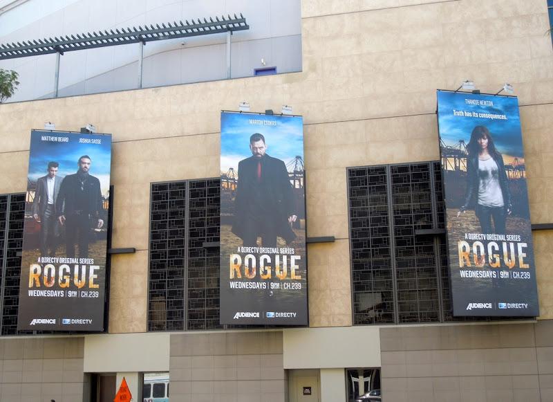 Rogue TV billboards