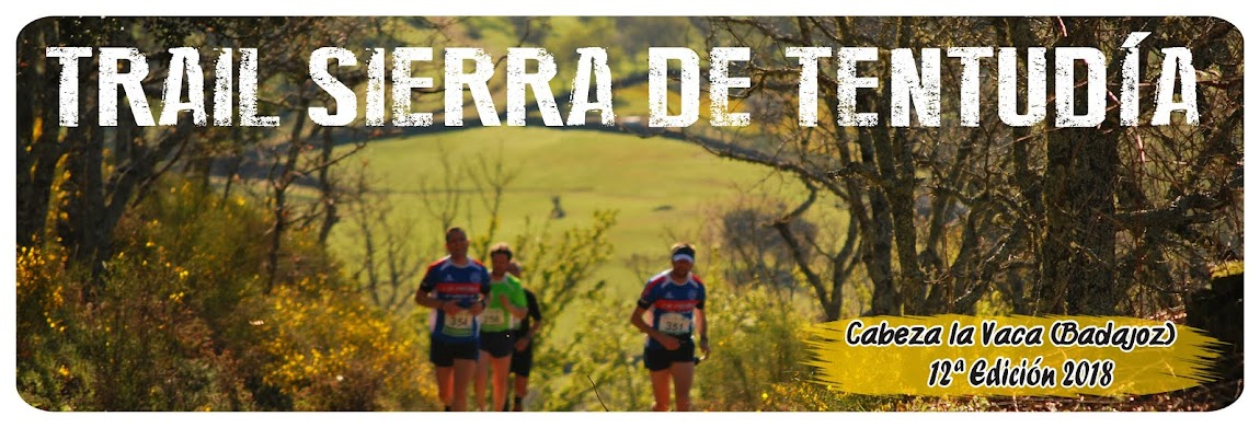 TRAIL SIERRA DE TENTUDÍA