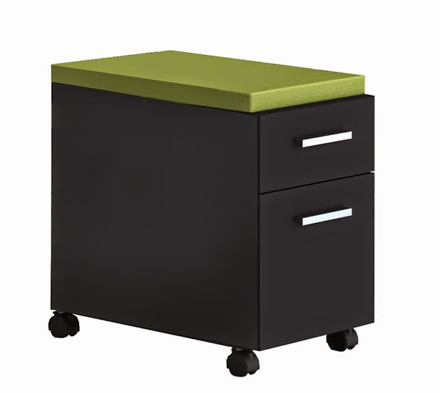 Cushioned File Pedestal