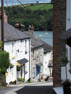 Cottages in Golant Cornwall