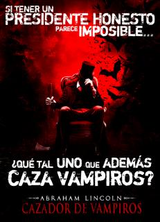 Carátula Abraham Lincoln: Cazador de Vampiros película dvdrip latino 2012