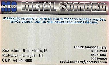 METALÚRGICA METAL SOMBRA Fabricação de estruturas metálicas em todos os padrões