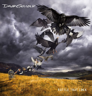 David Gilmour - Rattle That Lock - cover - 2015