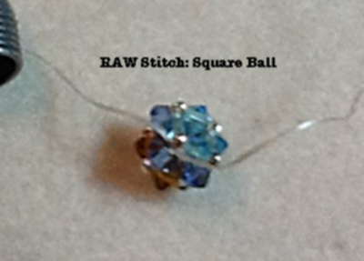 How to make a Ball with RAW Stitch