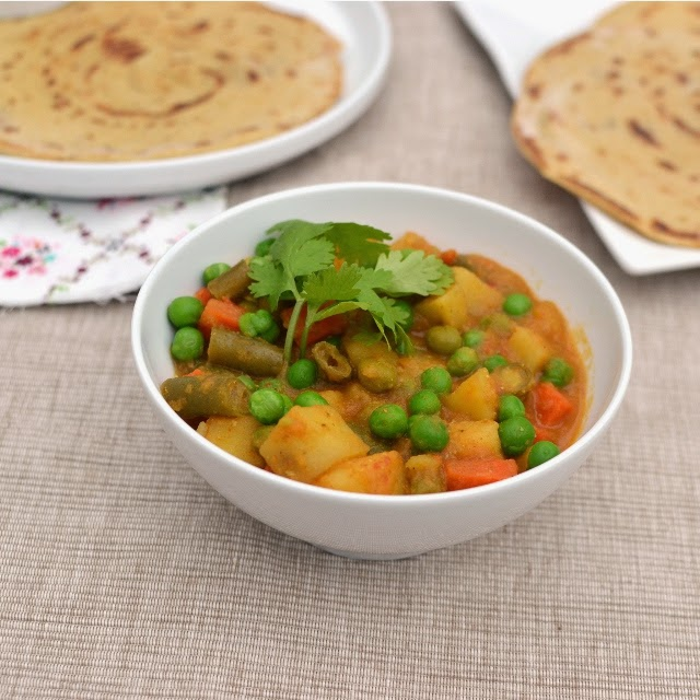 Kerala Mixed Vegetable Curry
