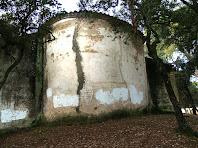 L'absis de l'ermita de Sant Ponç