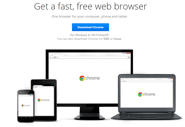 Google Chrome 37.0.2062.120 Free