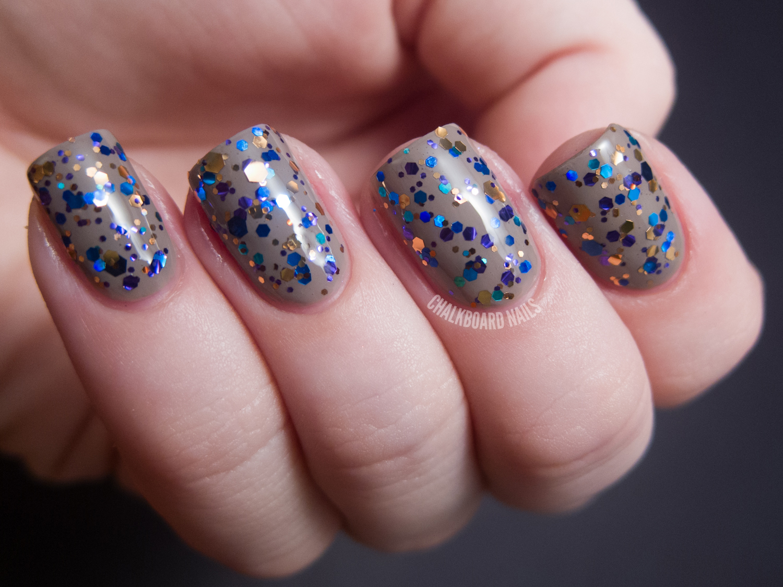 KBShimmer Swatch Spam   Chalkboard Nails   Nail Art Blog