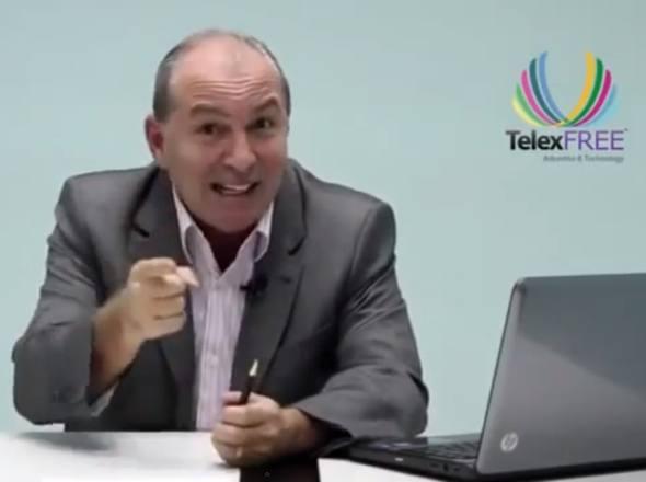 Carlos Costa Diretor da Telexfree sofre infarto, mais passa bem.