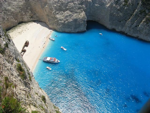 Playa Zakynthos en Grecia