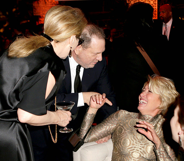 Emma Thompson in Golden Globes 2014 Parties