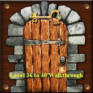 100 Doors Brain Teasers Level 36 37 38 39 40 Walkthrough
