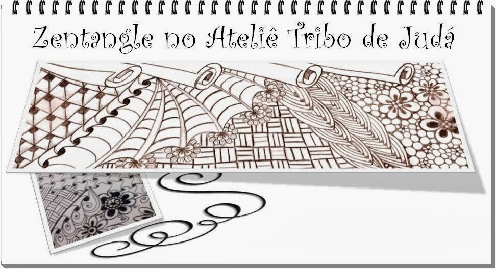 Zentangle - Ateliê Tribo de Judá