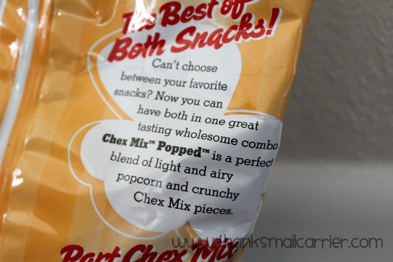Chex Mix popcorn