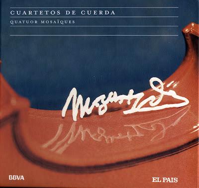 Mozart - Col. El País 250 Aniversario-(2006)-4-Cuartetos de cuerda-carátula frontal