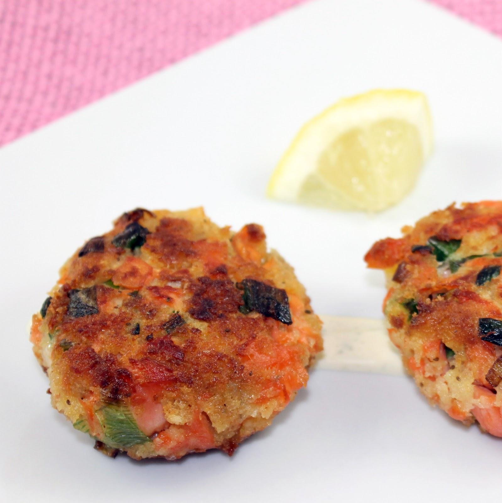 Dish Salmon Croquettes: Salmon Croquettes With Lemon Tarragon Aioli