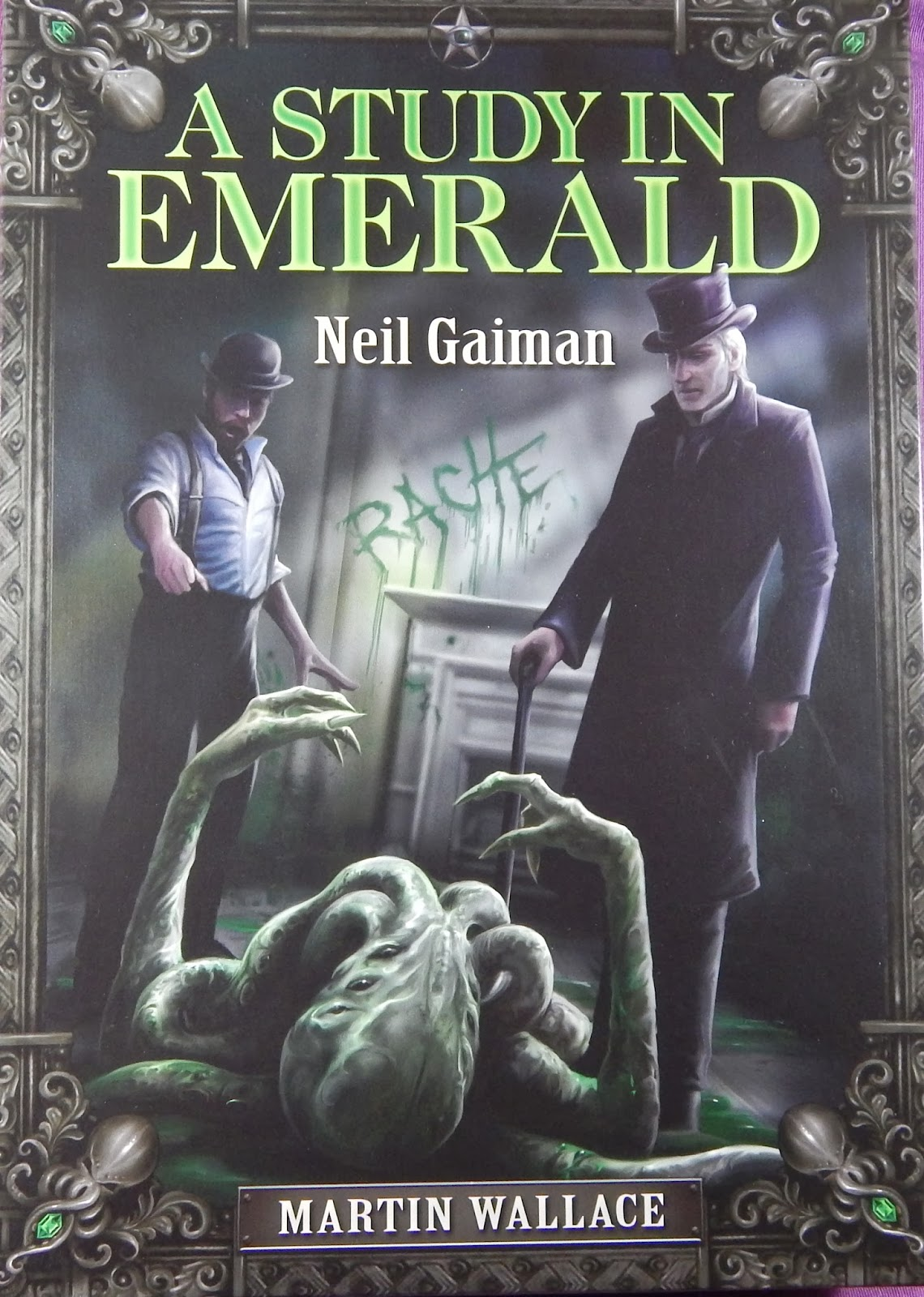 A Study in Emerald 2nd edition « Treefrog Games