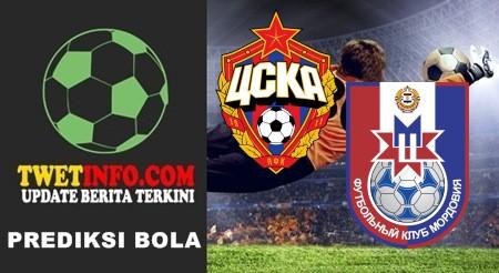 Prediksi CSKA Moscow vs Mordovia Saransk