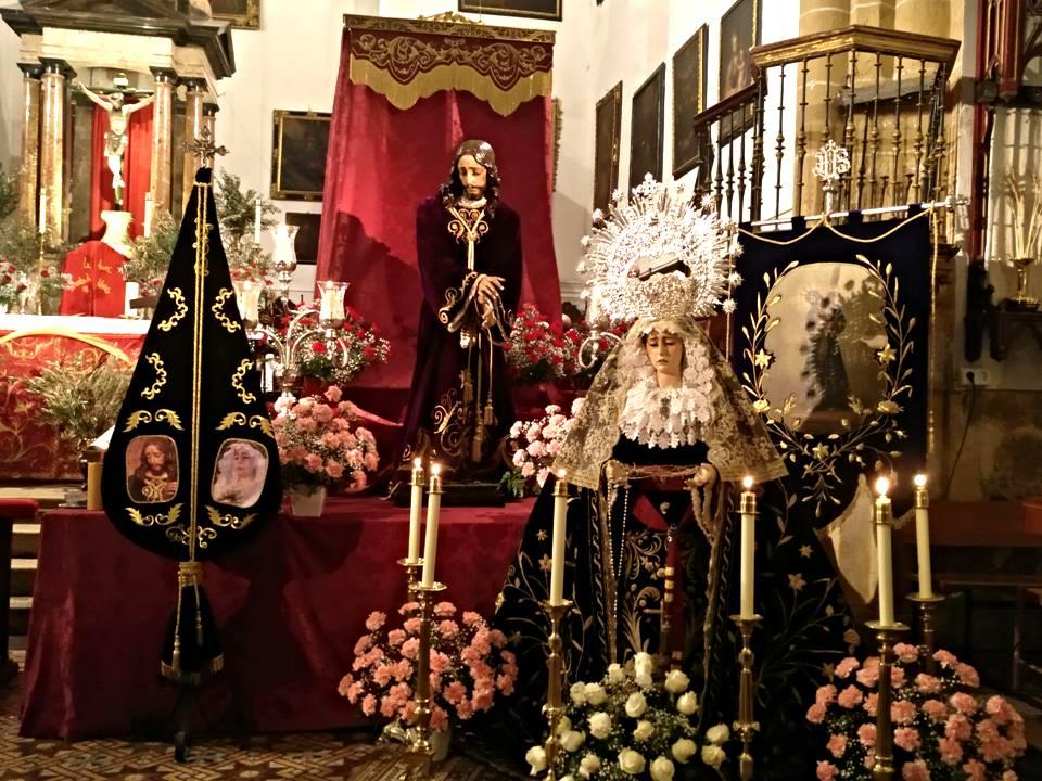 Cofradia del Nazareno y la Virgen de los Dolores  de Illora