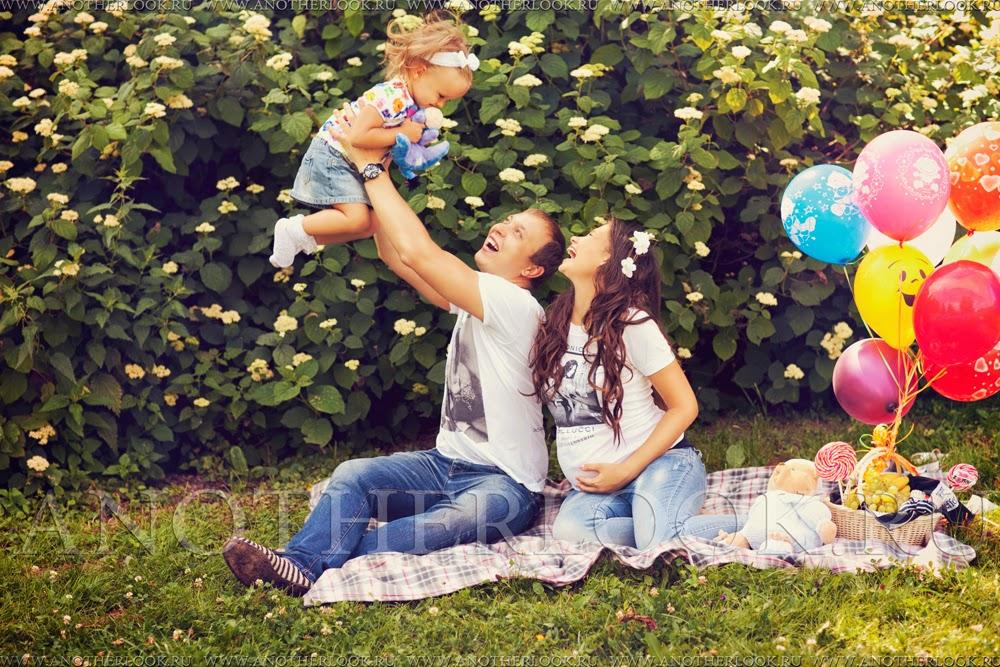 Летняя фотосессия с ребенком
