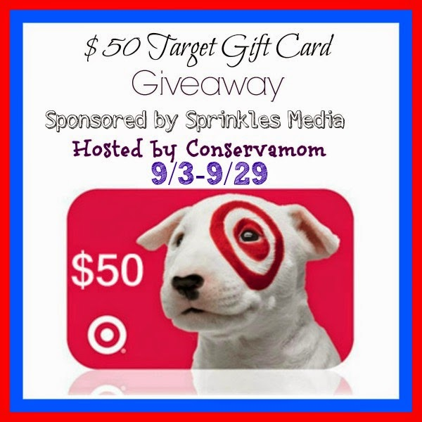 $50 Target Gift Card Giveaway