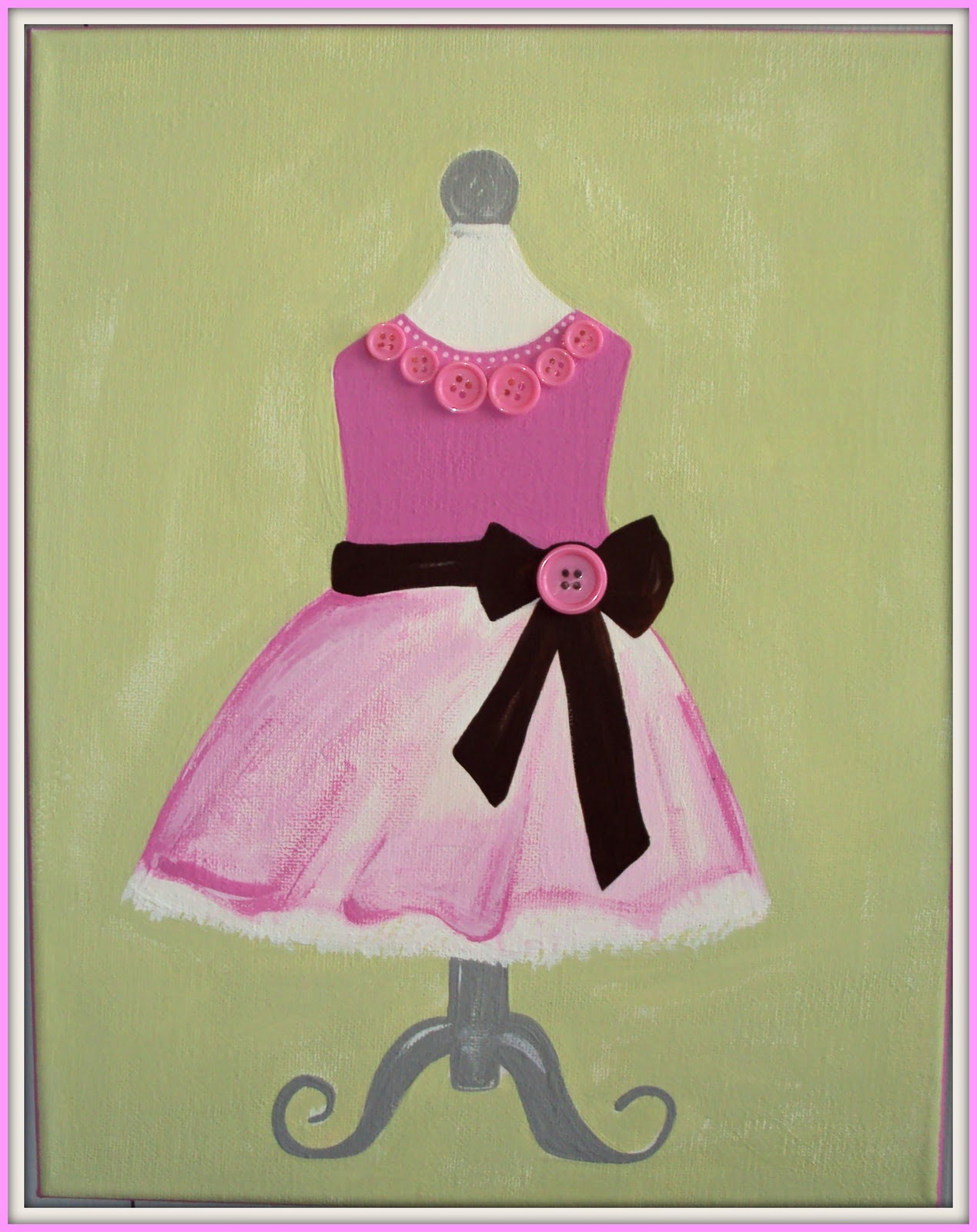 dress painting designs