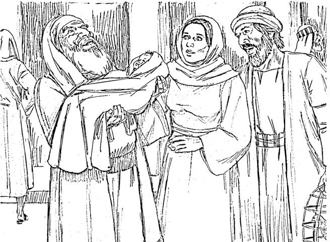 Bible Fun For Kids Simeon Anna See Jesus The Wise Men Bring