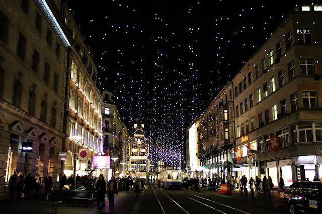 Świąteczny Zurych, Szwajcaria