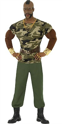 Mr T Military Costume