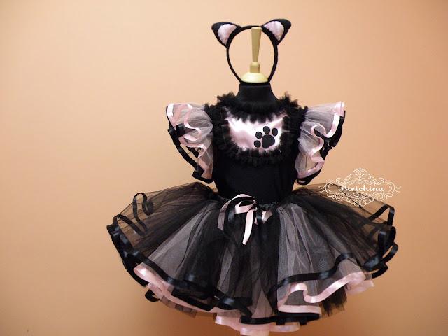 Карнавальные костюмы для девочек своими руками кошка 46