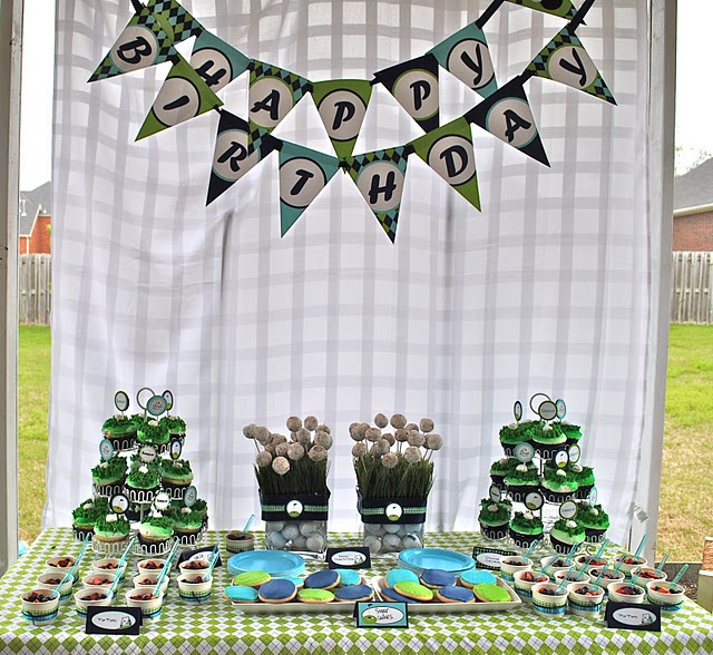 ... Party Ideas Par-TEE Time! Super Cute Golf Party!  Karas Party Ideas