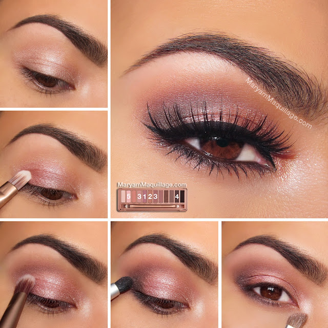 "Bien connu Maryam Maquillage: NAKED 3 Tutorial: ""Rosy Smokey"" CN08"