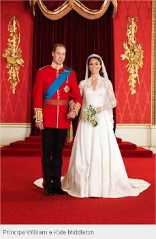 Foto Oficial do Casamento Real