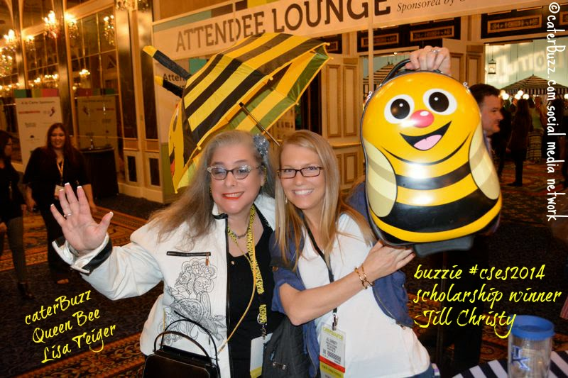 © caterBuzz.com social media network -  #caterbuzz buzzie meetup in the hallways at #cses2014