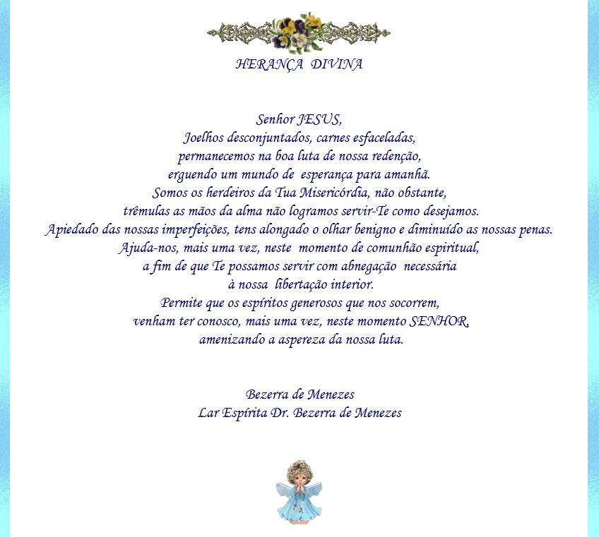 Super Espiritos de Luz: Oração a Bezerra de Menezes XW61
