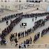 """فيديو""""  مدرسة ذكور بيت لحم الثانوية تشكل خارطة فلسطين قي ذكرى النكبة"""